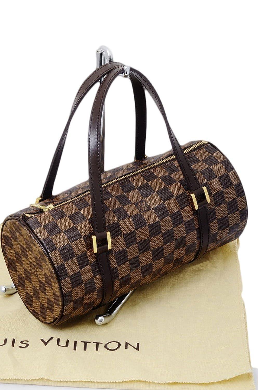 Authentic Louis Vuitton Damier Ebene Papillon 26 Hand Bag Purse   Amazon.co.uk  Shoes   Bags f948047e9f212