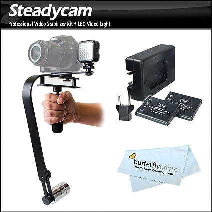 Profesional Estabilizador de cámara réflex digital con luz LED Set ...