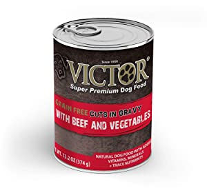 Victor Grain Free Cuts in Gravy with Beef and Vegetables Stew