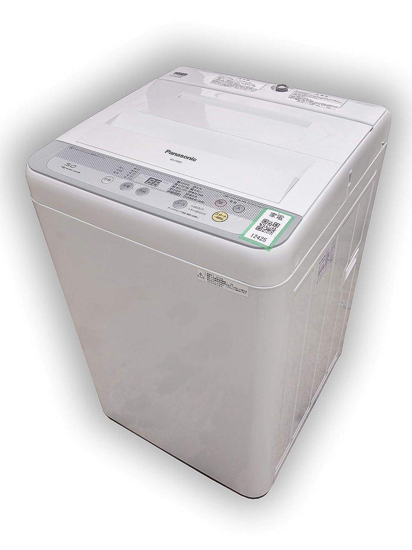 D▼パナソニック 洗濯機 2016年 5.0kg 送風乾燥 ステンレス槽 NA-F50B9 (12425)   B07HMS2CS7