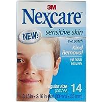 Nexcare Sensitive Skin Eye Patch Regular 80mm x 55mm SSRI4 (Pack of 14)