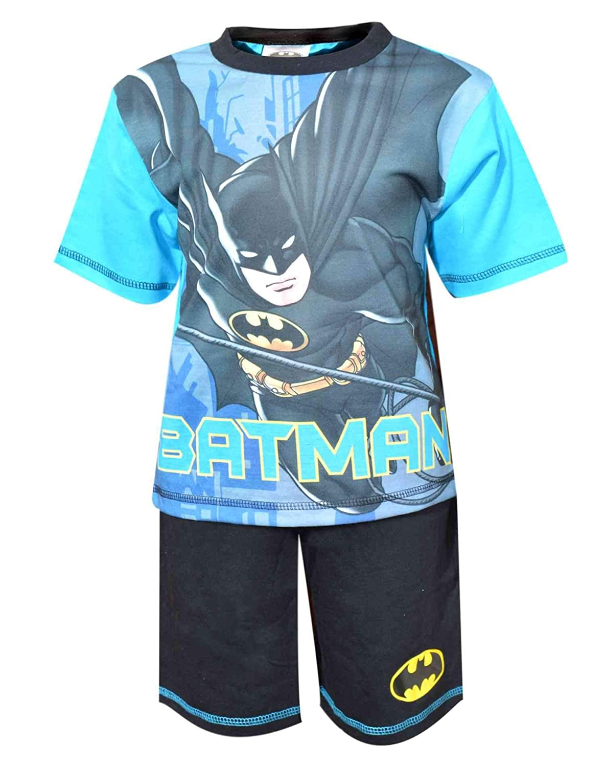 Batman Boys Official Licensed Short Pajamas Age 3 to 8 Years