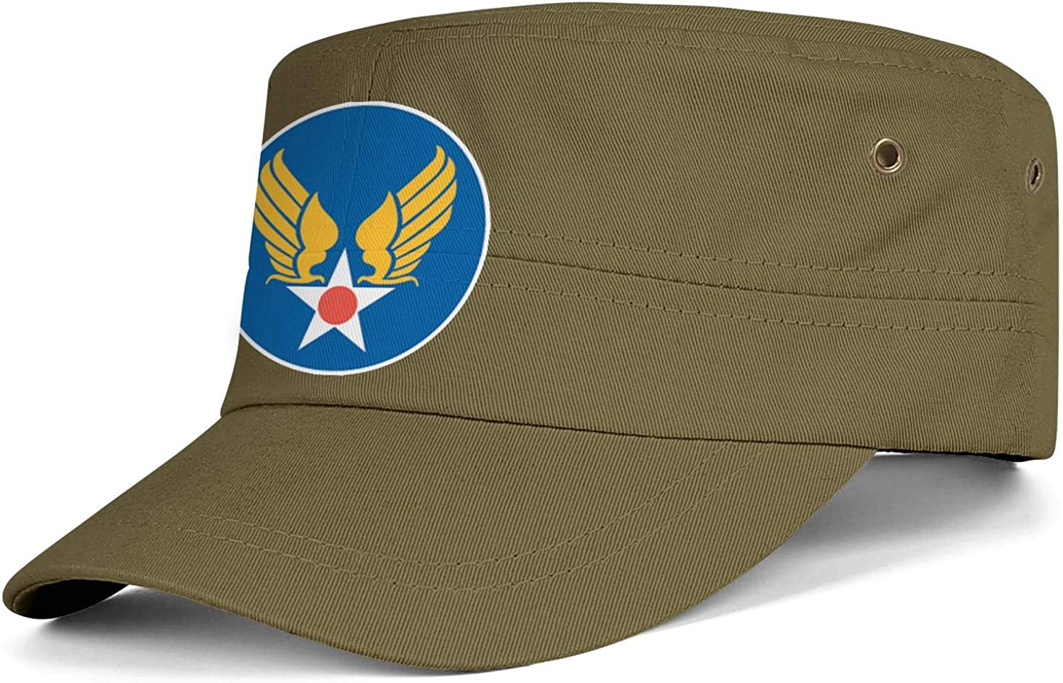 USAF Hap Arnold Symbol Army Cap Cadet Corps Hat Military Flat Top Adjustable Baseball Cap Cotton
