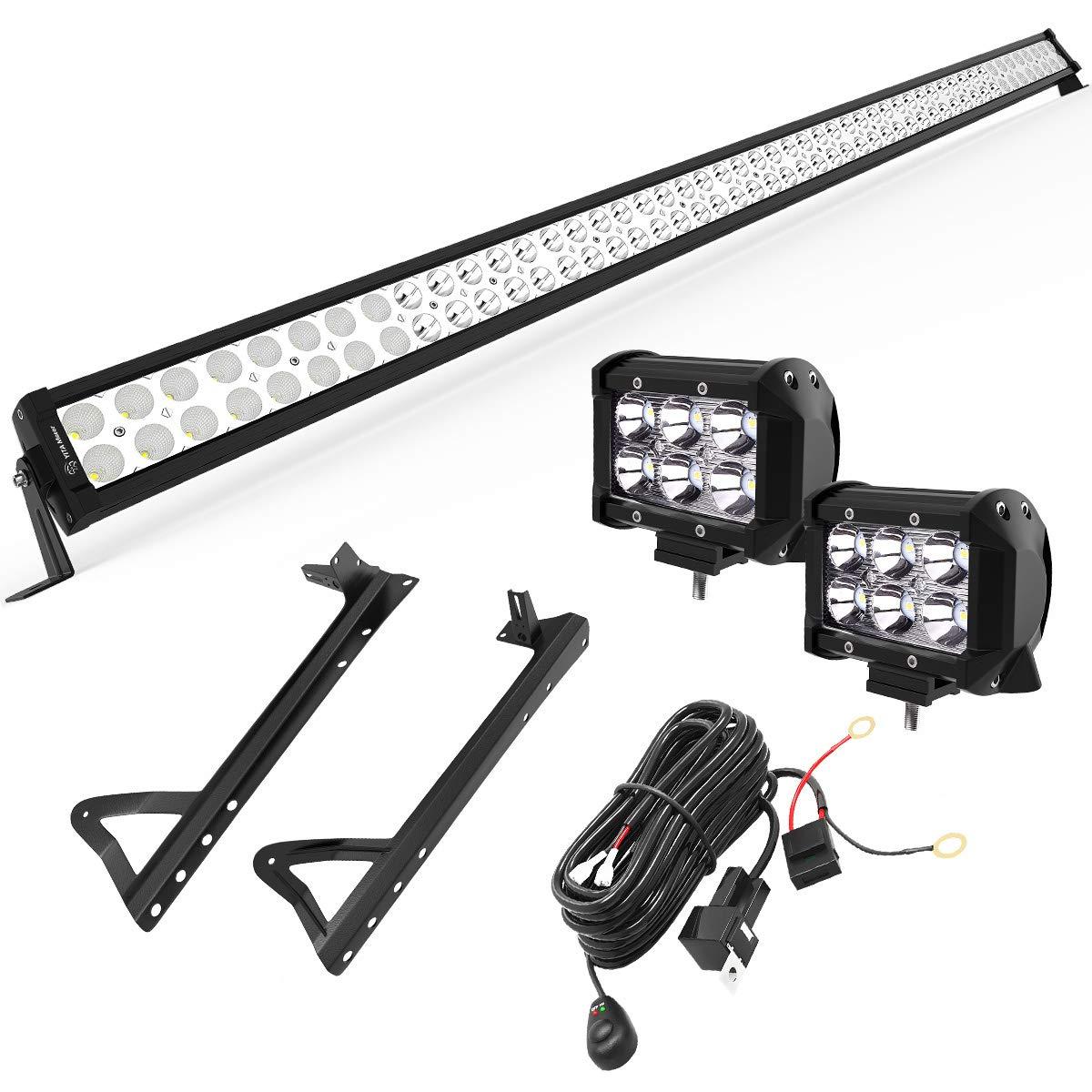 "Yitamotor 52"" 300W Combo LED Light Bar}"