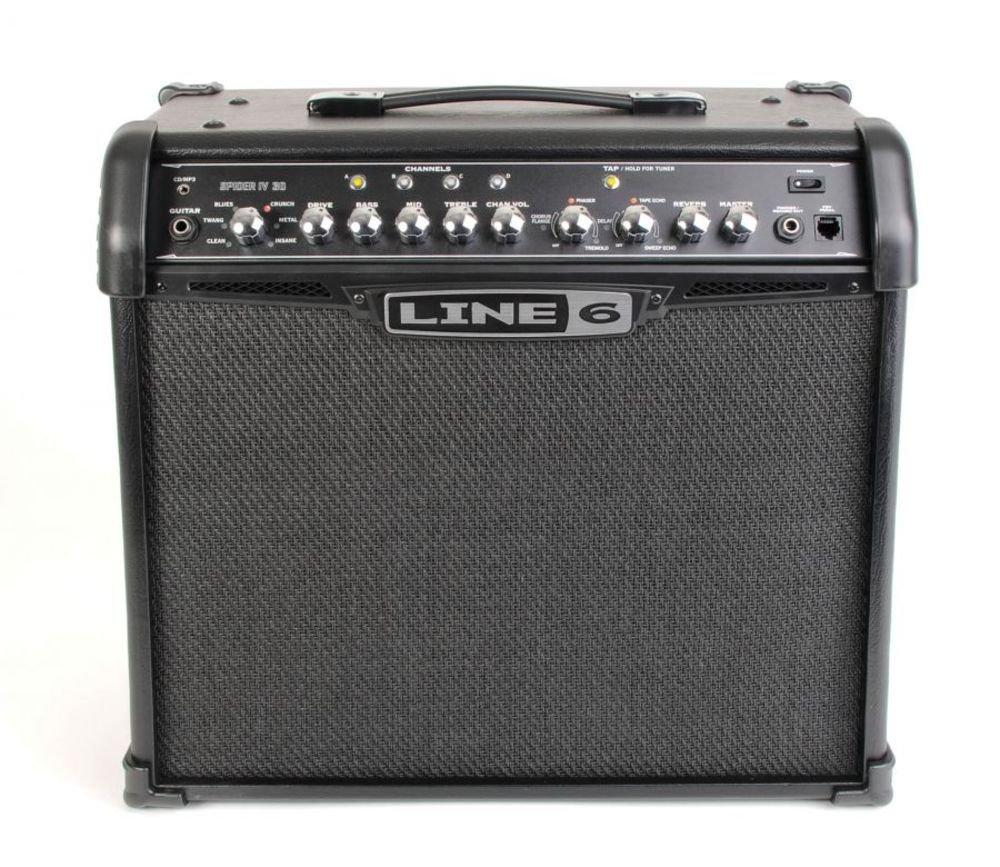 Line 6 Spider IV 30 - Amplificador combo para guitarra: Amazon.es: Instrumentos musicales