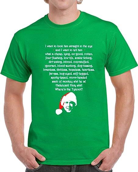 tshirtczar cool national lampoons christmas vacation clark rant t shirt s irish green - Christmas Vacation Rant