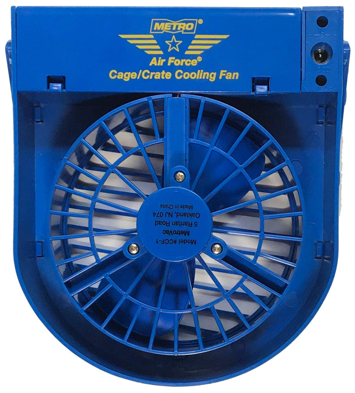 Metropolitan Vacuum Cleaner Co MV04500 Metro Airforce Cage and Crate Fan - 1 Count