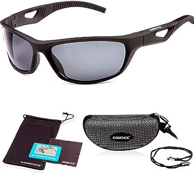 Gafas de sol deportivas polarizadas para hombres y mujeres - Protección UV400 Lente polarizada para ciclismo, conducción, esquí, pesca y golf - Ligero e irrompible: Amazon.es: Ropa y accesorios