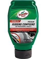 Turtle Wax 53224 Scratch Repair & Renew with Premium Microfiber Towel Rubbing Compound 18 Ounces