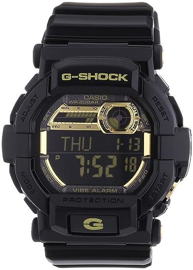 Casio Reloj Digital para Hombre de Cuarzo con Correa en Resina GD-350BR-1ER: Amazon.es: Relojes