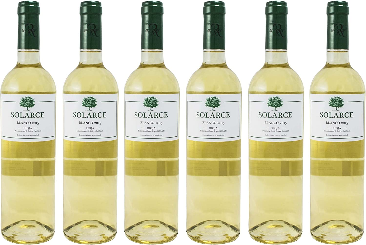 SOLARCE BLANCO RIOJA ESTUCHE DE 6 BOTELLAS 6 x 750 ML: Amazon.es: Alimentación y bebidas