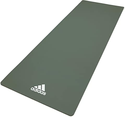 Amazon.com : adidas Yoga Mat- 8mm - Aero Green : Sports ...