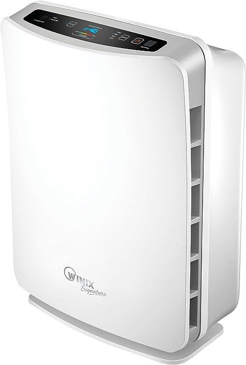 Winix U450 Luftreiniger (gegen Allergie, Gerüche, Staub, geeignet für große Räume, mit Fernbedienung, True HEPA, Plasmawave und Aktivkohlefilter, bis