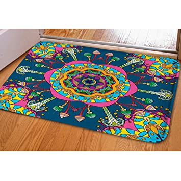 0a5a9f30691d Image Unavailable. Image not available for. Color: iBathRugs Door Mat  Indoor Area Rugs ...