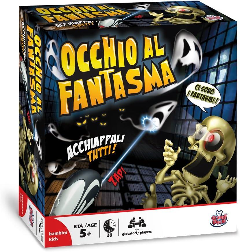 Grandi Giochi Occhio al Fantasma GG01300 - Juego de caza al fantasma: Amazon.es: Juguetes y juegos