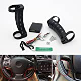 SUNDELY® 1 Pair Wireless Car Steering Wheel Button Remote Control For Stereo DVD GPS