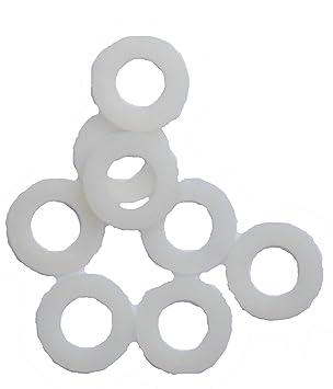 5,3 /_ 100 St/ück DIN125 Unterlegscheiben Scheiben Kunststoff Polyamid