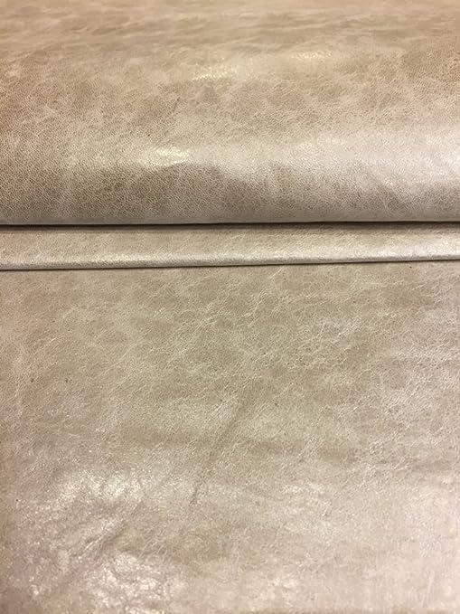 Italian Lambskin Top Quality leather lamb skin hide Matte Black 5.50 Sq.Ft  1 oz