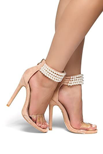 nude Stiletto heels women