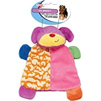HDP Spot Lil Spots Plush Blanket Toys for Small Dogs and Puppies Assorted Size:Pack of 2