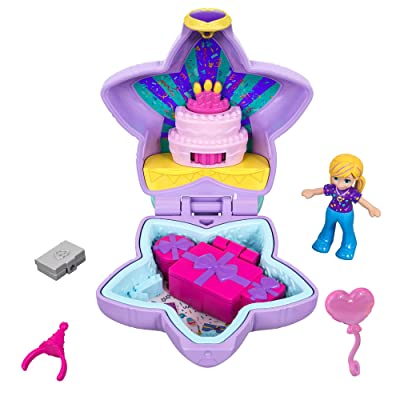 Polly Pocket Birthday Surprise Party: Toys & Games