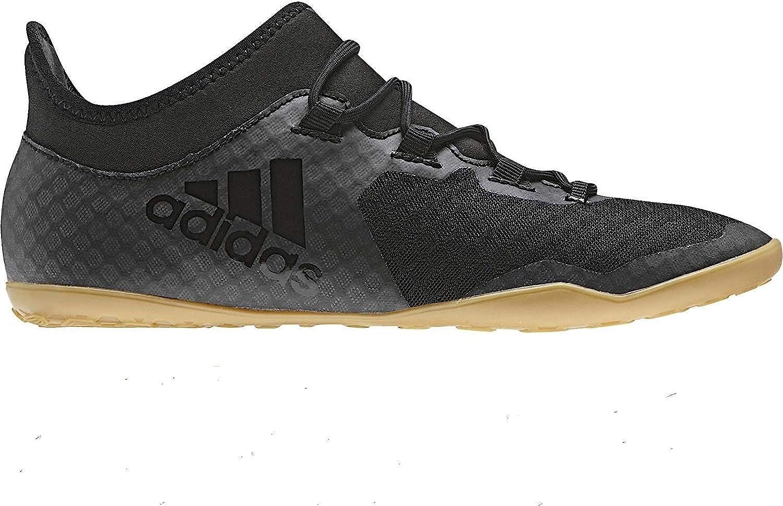 innovación Peladura trampa  Amazon.com | adidas Men's X Tango 17.3 Indoor Soccer Shoes CG3716, Size  12.5 Black | Soccer
