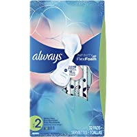 Always Infinity Pads with Wings for Women, Heavy Flow Absorbency, 32 count