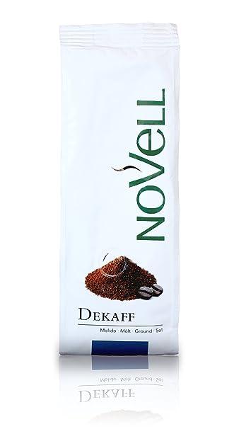 Cafes Novell Café Descafeinado Molido - 4 Paquetes de 250g
