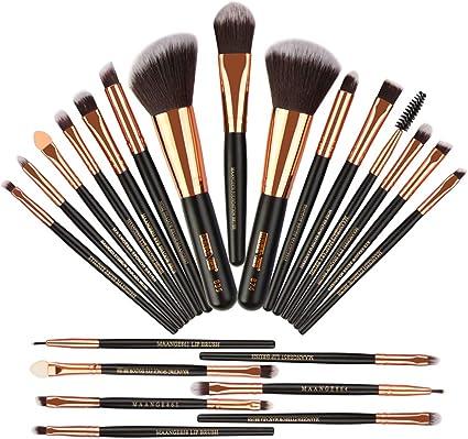 MAANGE 22 Pieces Set de Brochas de Maquillaje, Brochas de Maquillaje Maquillaje Profesional Pinceles Maquillaje: Amazon.es: Belleza