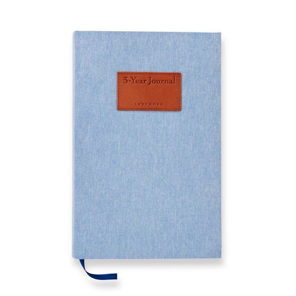 Levenger 5-Year Journal - Cobalt by Levenger