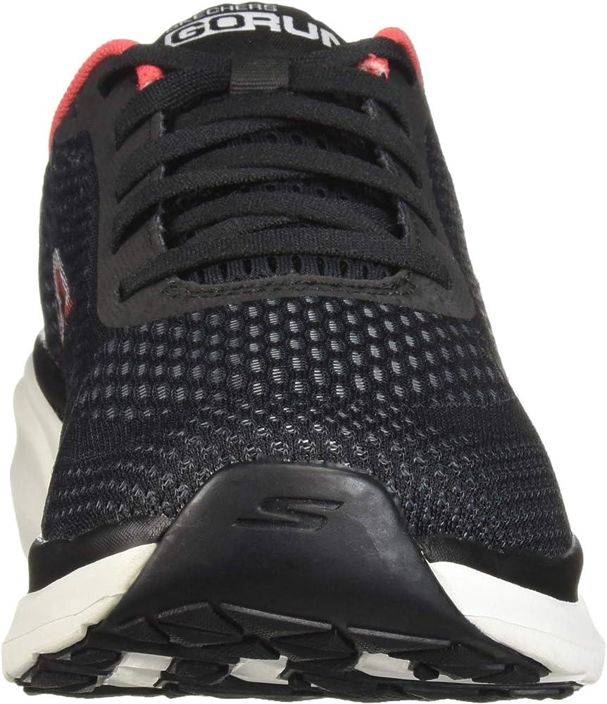 Skechers Pure Zapatillas para mujer, Negro (Negro/Rosado hot), 35 ...