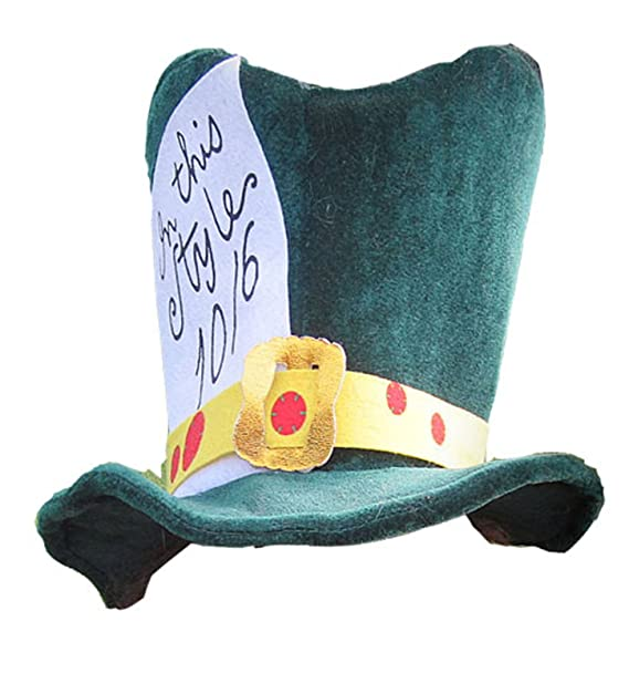 Amazon Com Mad Hatter Hat Clothing