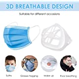 8Pcs 3D Mask Bracket Comfortable Breathing Protect Lipstick Washable Reusable, Inner Cool Support Face Frame Keep Fabric…