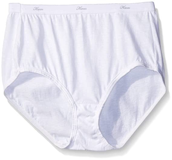 03ce6fc43c47 Hanes Women's Cool Comfort Cotton Brief Panties at Amazon Women's Clothing  store: