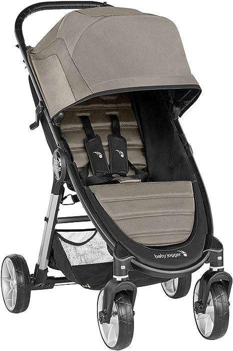 Opinión sobre Baby Jogger City Mini 2 de 4 Ruedas Sepia. Silla de paseo desde nacimiento hasta 22kg. Color beige