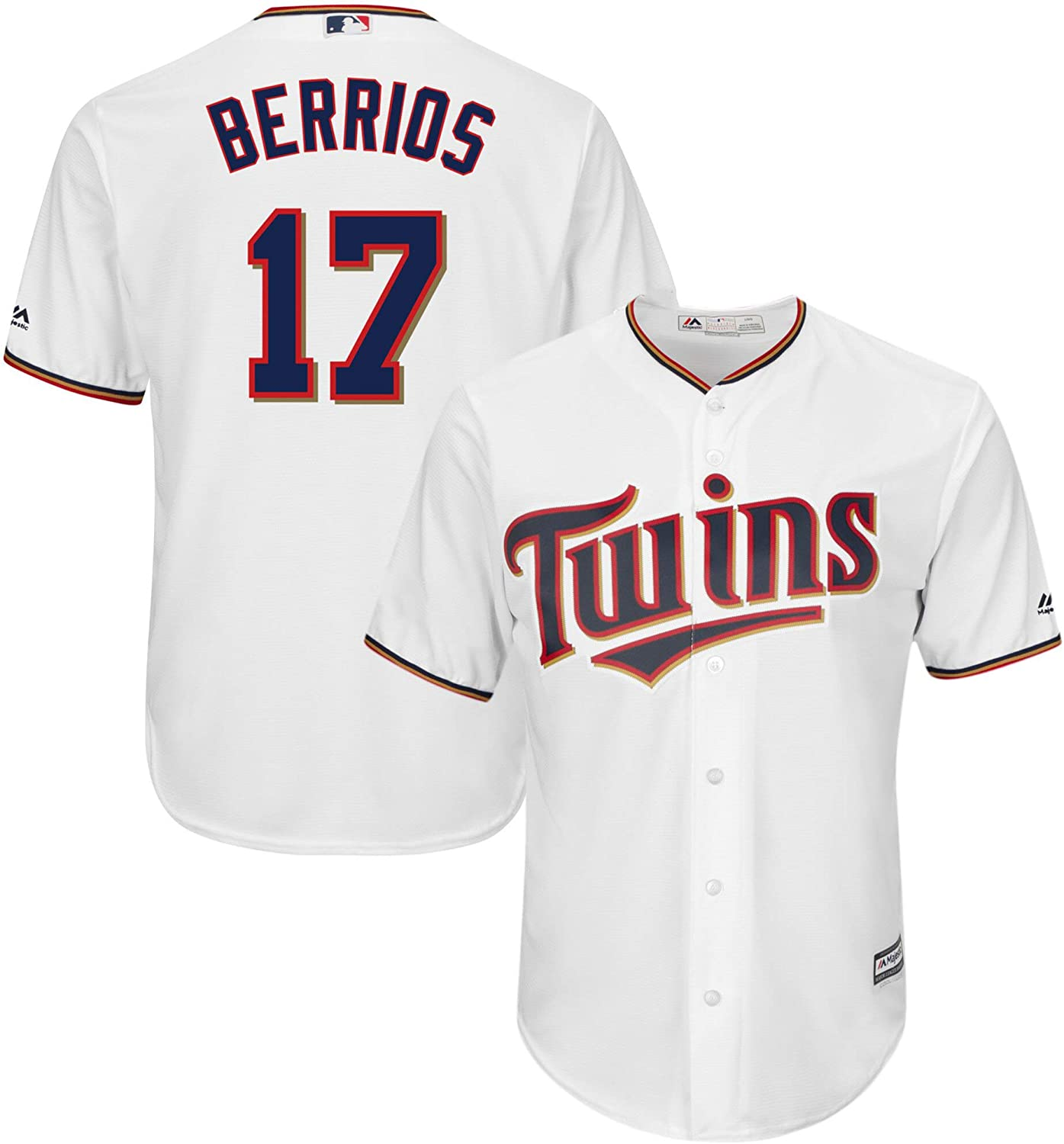 Outerstuff Max Kepler Minnesota Twins Youth 8-20 Cream Alternate Cool Base Replica Player Jersey
