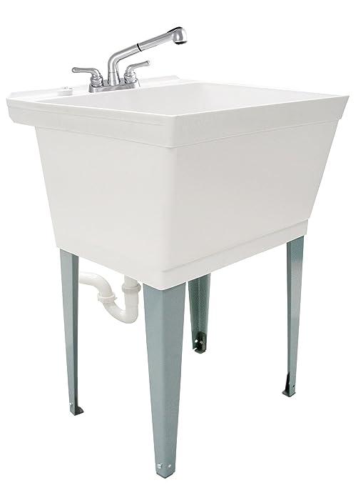 Amazon.com: LDR 040 6000 fregadero de lavadero de 19 galones ...