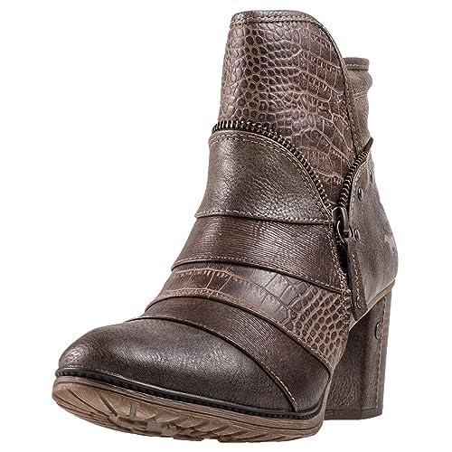 Mustang Stiefeletten 1199 517 Schuhe Damen Stiefeletten Mustang Ankle Stiefel  Amazon  ... 8555e6
