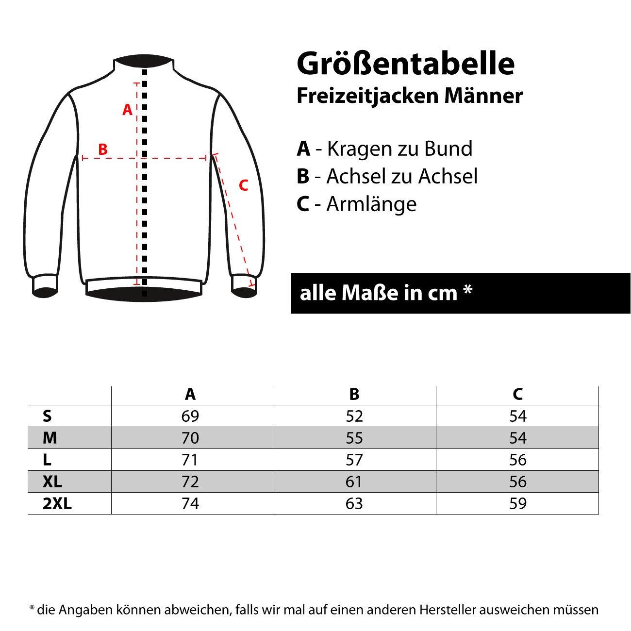 Spa/ß kostet M/änner und Herren Freizeitjacke Rottweiler BOSS mit R/ückendruck