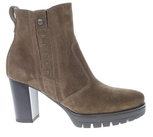 NeroGiardini donna Tronchetto Carbone A807084D scarpa A//I 2019