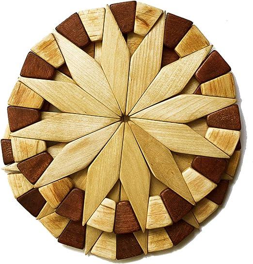 Wooden TEAPOTS Decorative Natural Embellishments x 8