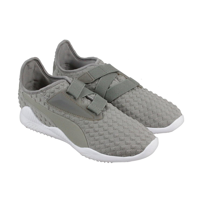 36c3e28ff85f52 PUMA Mostro Bubble Knit Mens Gray Textile Strap Sneakers Shoes 8  Amazon.co. uk  Shoes   Bags