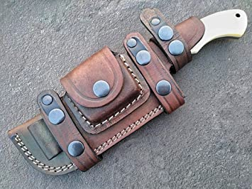 Amazon.com: Ottoza - Cuchillo de acero Damasco con mango de ...