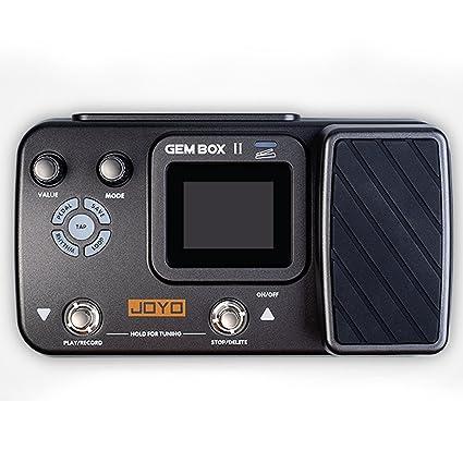 JOYO Gem Box 2 II - Pedal de efectos de guitarra con preajustes de metrónomo y