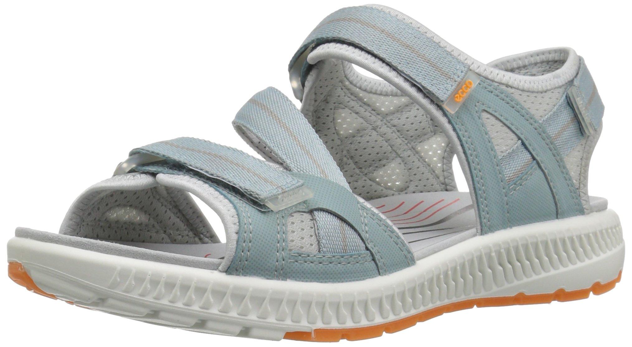 ECCO Women's Terra 3S Athletic Sandal, Arona/Papaya, 40 EU/9-9.5 M US