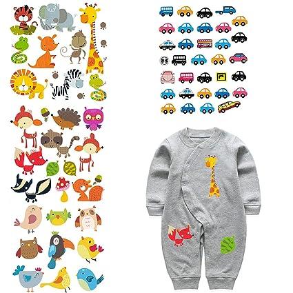 be7b52074870 Amazon.com  ARTEM 4 Set Patches for Kids Clothes Washable Heat ...