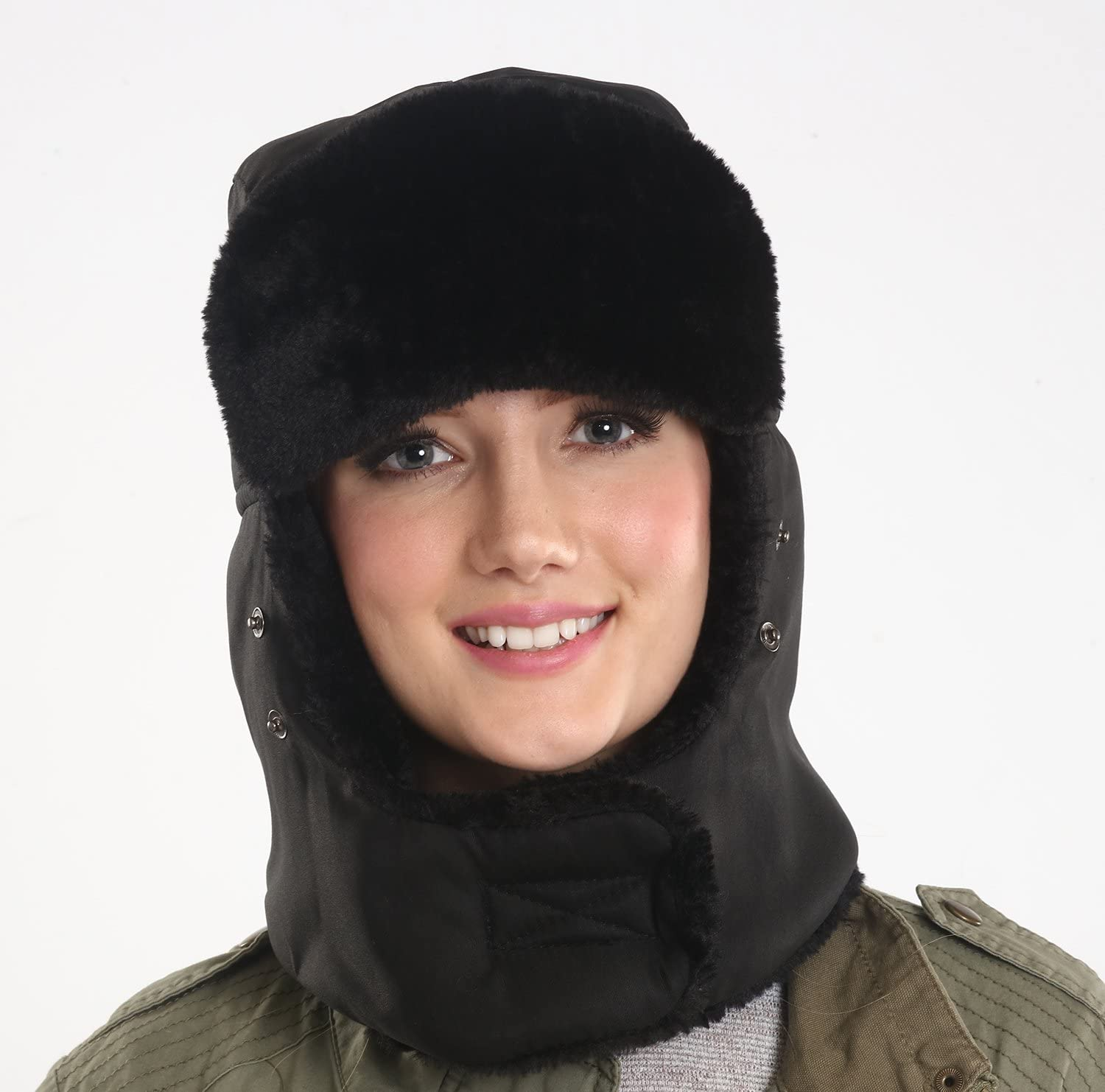 Waterproof Windproof Shell Tough Headwear Trapper Hat Ushanka Aviator Hat for Serious Expeditions /& Serious Style