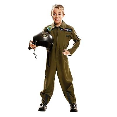 My Other Me Me-203712 Disfraz Top Gun de niño, 3-4 años (Viving Costumes 203712: Juguetes y juegos