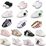 Sabe Meckior Fashion Baby Sneakers Infant Baby Boys Girls Soft Sole Prewalker Crib Casual Shoes