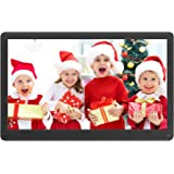 Atatat Digital Photo Frame 17.3 Inch IPS Screen Motion Sensor 1920x1080 High Resolution, Digital Picture Frame Support 1080P